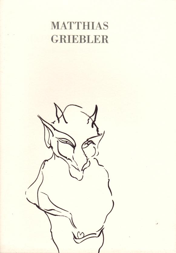 GRIEBLER : KAT 54 -  Zeichnungen / Radierungen