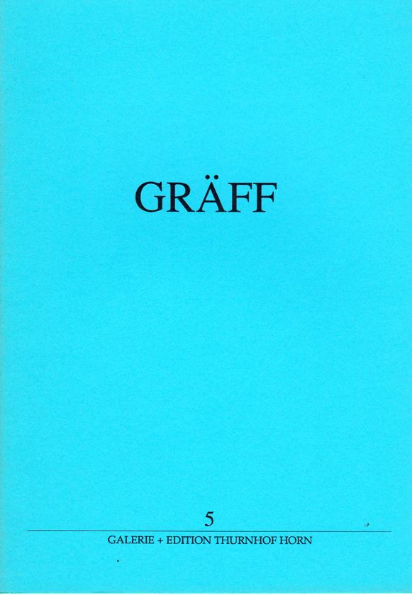 GRÄFF : KAT 5 - St. Leonharder Arbeiten 1984-1989