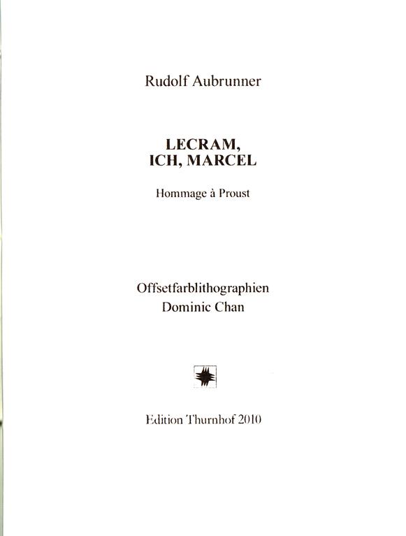 AUBRUNNER : LECRAM, ICH , MARCEL