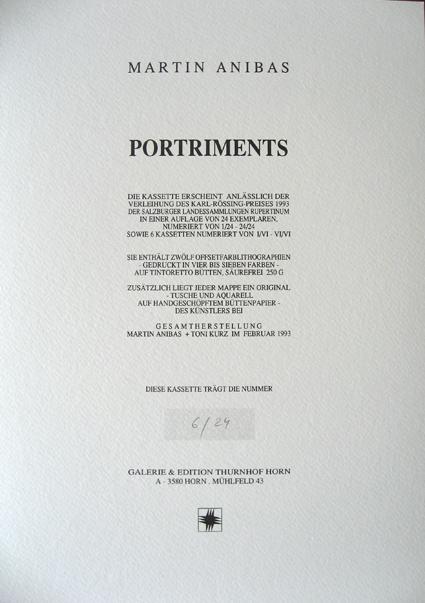 ANIBAS : PORTRIMENTS, Graphikkassette